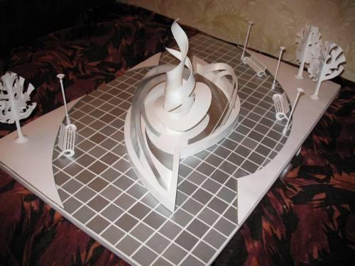 Памятники из бумаги